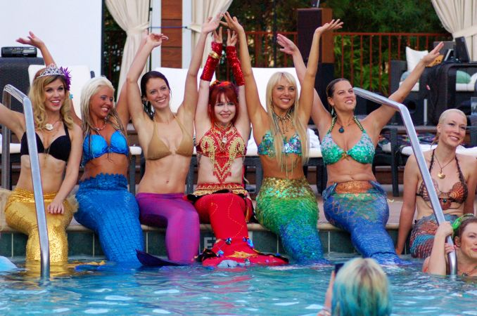 Mermaid Convention Photography